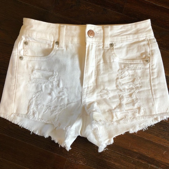 American Eagle Outfitters Pants - American Eagle Hi-Rise Shortie